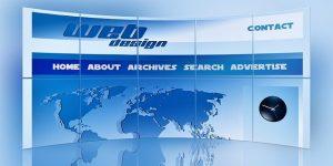 La navigation d'un site web